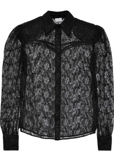 Magda Butrym Woman Busan Lace Shirt Black