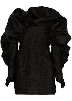 Magda Butrym Trani ruffled mini dress