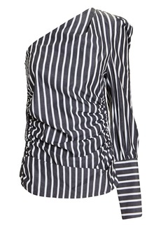 Maggie Marilyn A Little After Ten One Shoulder Blouse