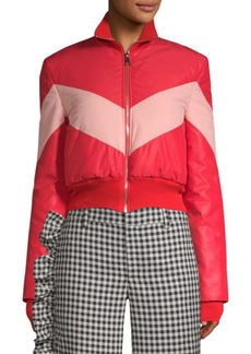 Maggie Marilyn Chevron Puffer Jacket