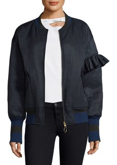 Maggie Marilyn Don't Forget To Dream Reversible Bomber Jacket