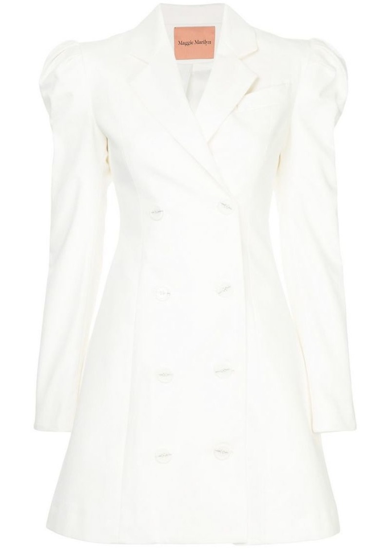 Maggie Marilyn double-breasted blazer dress