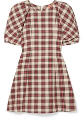 Maggie marilyn fashionably early plaid cotton mini dress abvea8938ee a