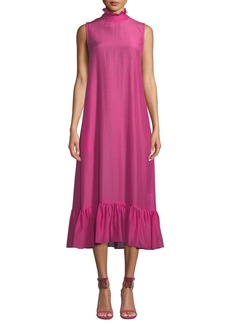Maggie Marilyn Floating On The Clouds High-Neck Dress