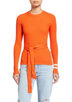 Maggie Marilyn Nearly There Tie-Front Sweater