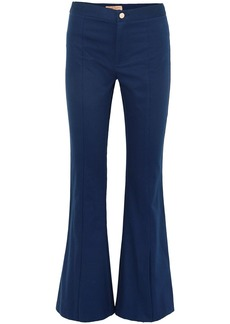 Maggie Marilyn Woman She's Still A Dreamer Cotton Flared Pants Navy