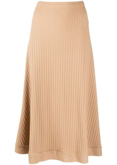 Maggie Marilyn ribbed-knit midi skirt