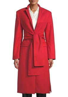 Maggie Marilyn Trust Your Instincts Wool-Cashmere Long Coat