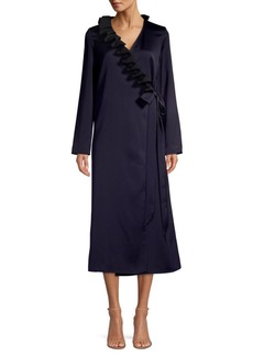 Maggie Marilyn You Say It Best Ruffle Wrap Dress