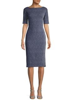 Maggy London Birdseye Sheath Dress