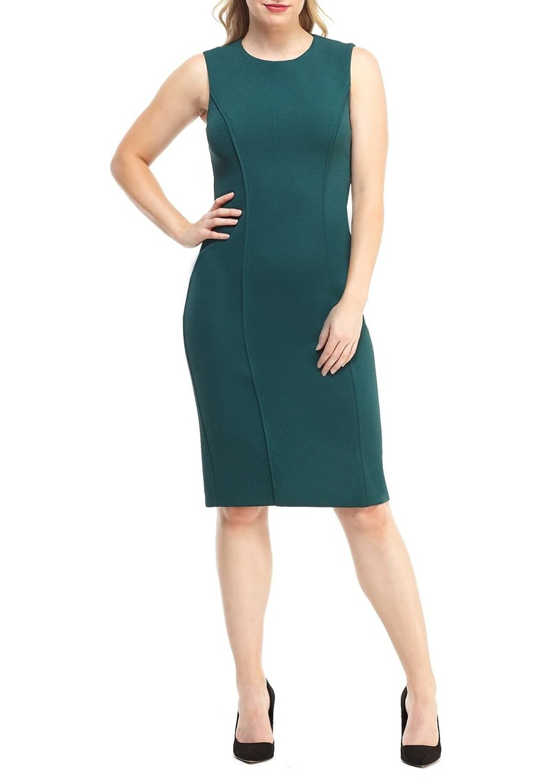 Maggy London Career Knit Sheath Dress