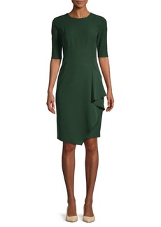 Maggy London Cascading Sheath Dress