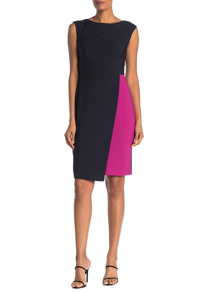 Maggy London Colorblock Tank Dress