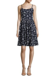 Maggy London Cotton Floral Petite Dress
