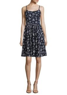 Maggy London Cotton Floral Petite Dress