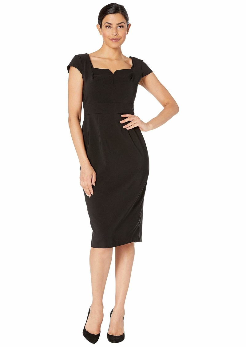Maggy London Dream Crepe Solid Sheath Dress