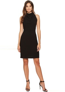 Maggy London 30s Crepe Fit & Flare with Lace Back Detail