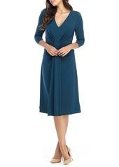 Maggy London A-Line Jersey Dress
