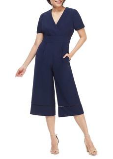 Maggy London Becca Crop Jumpsuit (Regular & Petite)