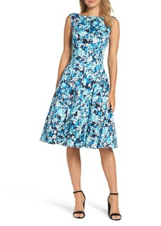 Maggy London Blossom Bunch Fit & Flare Dress