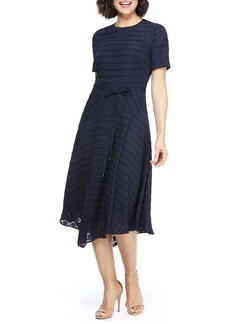 Maggy London Box Textured Dress