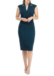 Maggy London Capsleeve Sheath Dress