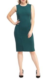 Maggy London Career Knit Sheath Dress