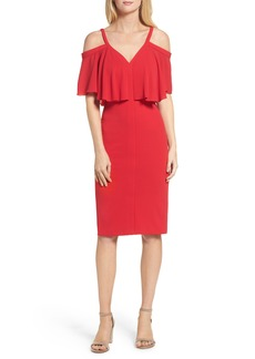 Maggy London Catalina Crepe Popover Dress