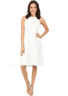 Maggy London Circle Interlocking Lace Fit and Flare