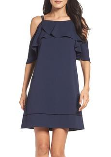 Maggy London Cold Shoulder Dress