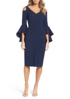 Maggy London Cold Shoulder Dress (Regular & Petite)