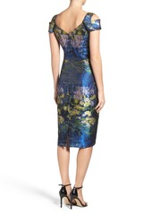 Maggy London Maggy London Cold Shoulder Midi Dress Now 94 80