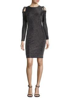 Maggy London Cold-Shoulder Sheath Dress