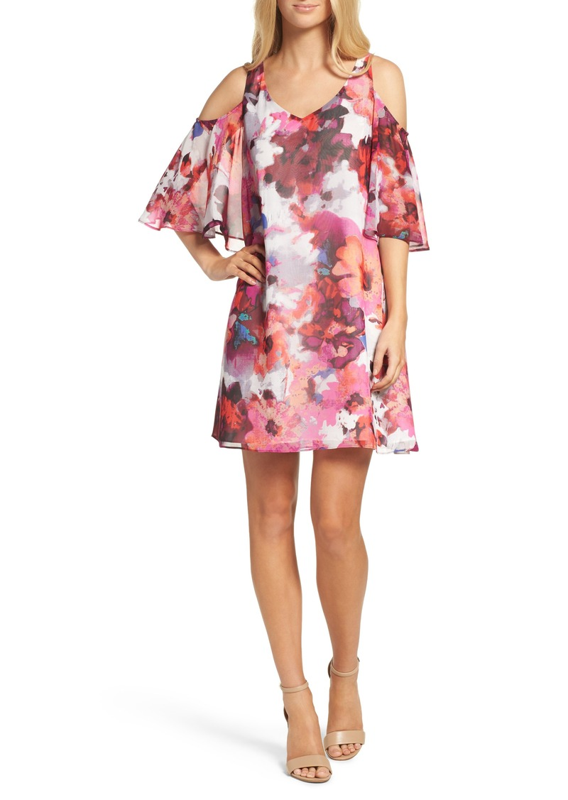 a725ff5f8b7 SALE! Maggy London Maggy London Cold Shoulder Shift Dress