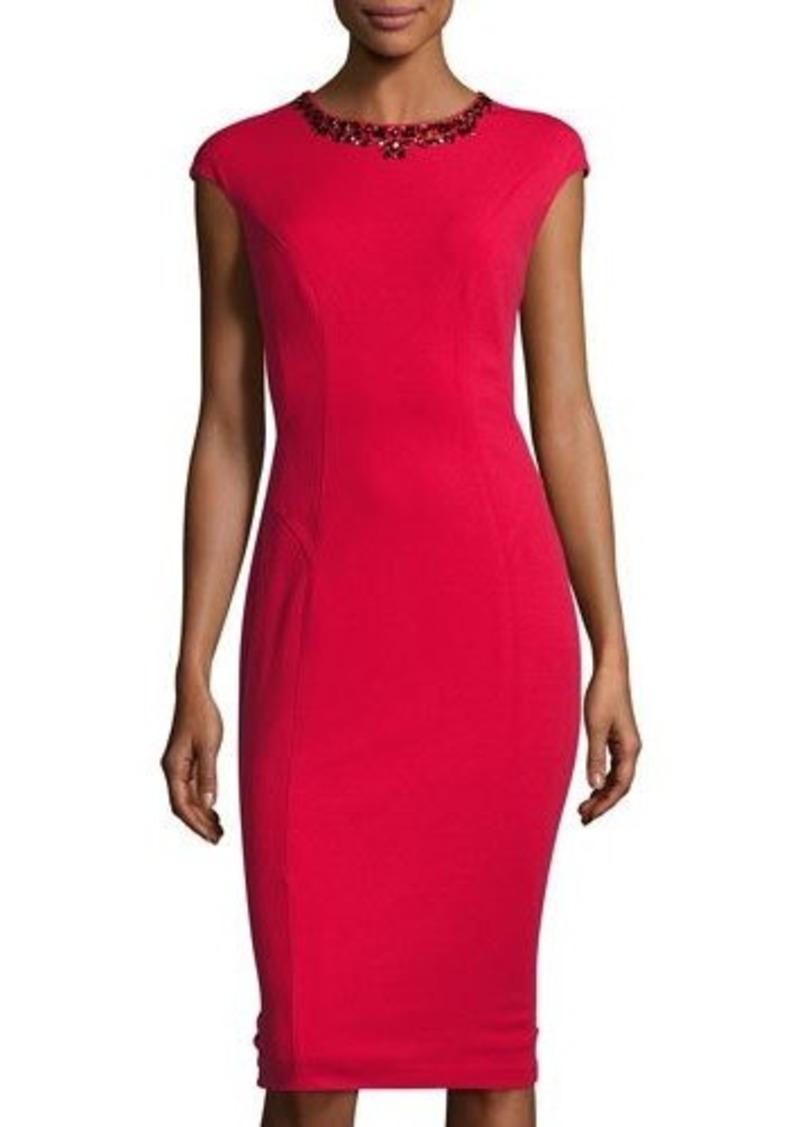 Maggy London Maggy London Crepe Scuba Midi Dress Dresses Shop It