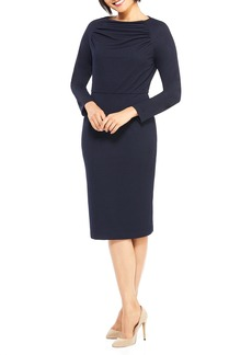 Maggy London Crepe Sheath Dress