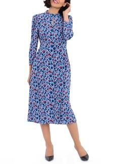Maggy London Ditsy Midi Dress