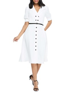 Maggy London Double Breasted Shirtdress