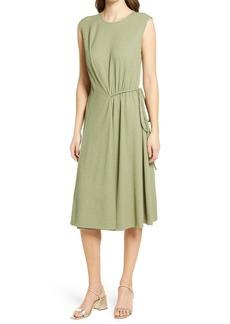 Maggy London Draped Sleeveless Dress