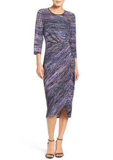 Maggy London Faux Wrap Dress