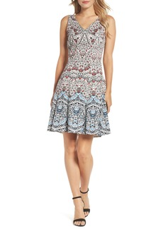 Maggy London Fit & Flare Dress