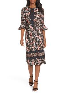 Maggy London Flare Cuff Sheath Dress (Regular & Petite)