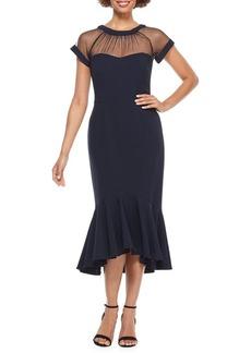 Maggy London Flounce A-Line Dress