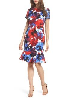 Maggy London Flounce Dress