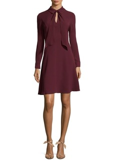 Maggy London Front Knot Fit-&-Flare Dress