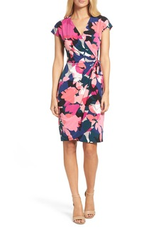 Maggy London Jersey Wrap Dress (Regular & Petite)