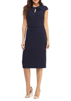 Maggy London Kyhle Capsleeve Sheath Dress
