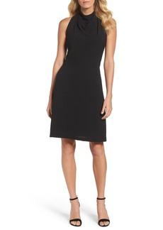 Maggy London Lace Back A-Line Dress