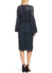 f2ee0ead Maggy London Lace Bishop Sleeve Dress Maggy London Lace Bishop Sleeve Dress