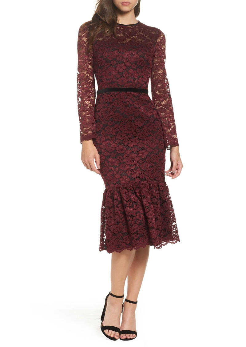 Maggy London Maggy London Lace Midi Dress Dresses